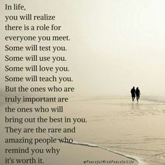 Know the rigth people