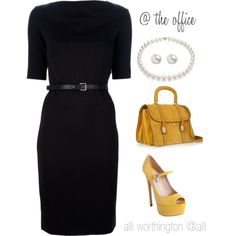 """""""At the Office"""" by alliworthington on Polyvore"""