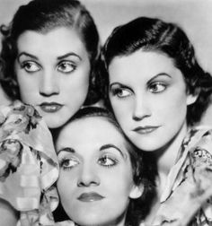 The Andrew's Sisters, 1940s