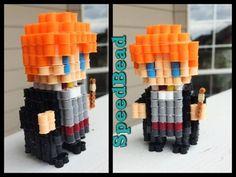 3D Perler Bead Harry Potter! - YouTube