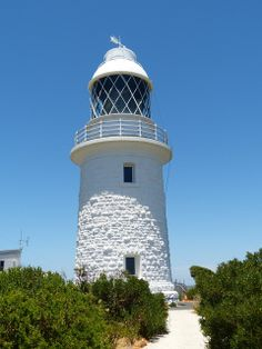 Lighthouse Cap Naturaliste in the Southwest of Western Australia.