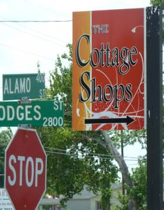 Cottage Shop District in Lake Charles