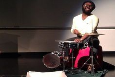 Great singer and drummer. Watch this #drummer create a frenzy at a New York subway station with his #drum skills.