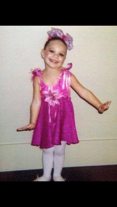Maddie de pequeña