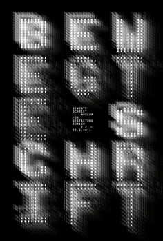 Bewegte Schrift, Philippe Apeloig l Cool Typography, Typography Letters, Graphic Design Typography, Graphic Posters, Bts Design Graphique, Art Graphique, Typo Poster, Typographic Poster, Typography Inspiration
