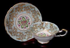 Paragon Tea Cup & Saucer - Vintage - Coronation of Queen Elizabeth II - England