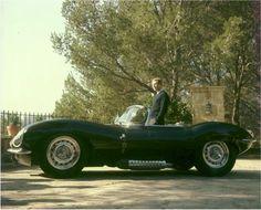 Mr Steve McQueen & his Jaguar XKSS