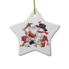 Merry Christmas Ornament #ornament #hohoho