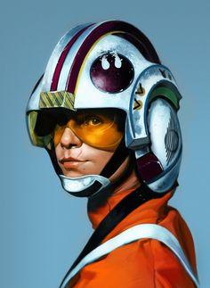 Luke Skywalker by ~matjosh on deviantART
