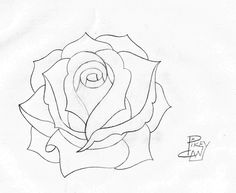 Rose Drawings In Pencil | rose pencil sketch 4 | Flickr - Photo Sharing!