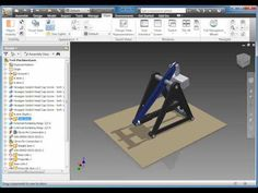 Part 1 - Dynamic Simulation & Finite Element Analysis (FEA) - Autodesk Inventor 2011 Hybrids And Electric Cars, Autodesk Inventor, Eco Friendly Cars, Cad Cam, Tesla Motors, Our Solar System, Car Ford, Mechanical Engineering, Concept Cars