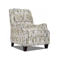 Living-Room-Recliner-Chair-Den-Space-Saver-Lumbar-Support-Thick-Cushions-Browns