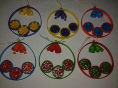 Ornamente pom quilling
