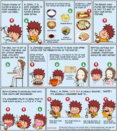 Looks like I've been ready to eat in Japan. I already use this etiquette as my own personal manners. Not because I should.