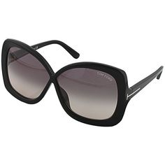 Tom Ford Calgary Sunglasses ($425) ❤ liked on Polyvore