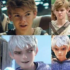 I call for a live-action remake of Rise of the Guardians with Thomas Brodie-Sangster as Jack Frost.