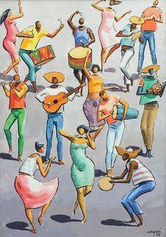 Hector Carybé | Samba, 1984