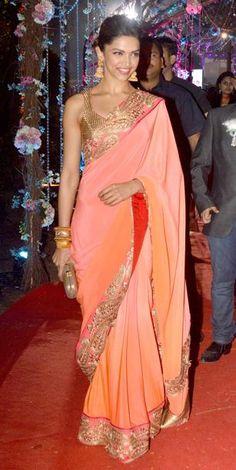 Deepika Padukone at Ahana Deol wedding Reception
