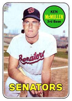 1969 Topps #319 Ken McMullen Front