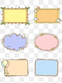 Simple cartoon border round frame dialog session bubble PNG and PSD Adobe Photoshop, Easy Frame, Round Frame, Dialogue Bubble, Banner Design, Frame Border Design, Ink Doodles, Image Clipart, Simple Borders