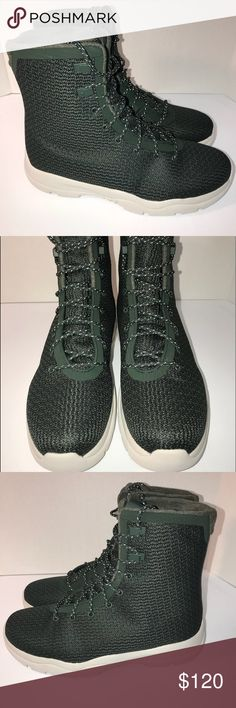 1a99cb9c14a845 Air Jordan Future Boot Grove Green Men SZ Air Jordan Future Boot Grove  Green Men Event Waterproof Mens Size Nike ID  854554 300 New without box  Authentic ...