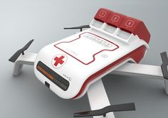 KITRONE / first-aid kit drone for the mountain rescue / Drone / product design / MKSK_DESIGN Product Designer portfolio site Technology Articles, Medical Technology, Energy Technology, Technology Gadgets, Drone Remote, Rescue Vehicles, Futuristic Technology, Medical Information, Emergency Vehicles