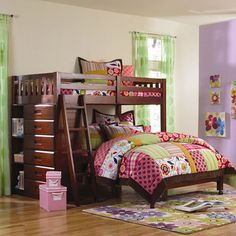 You'll love the Weston Twin over Full L-Shaped Bunk Bed at Wayfair - Great Deals on all Baby & Kids  products with Free Shipping on most stuff, even the big stuff.