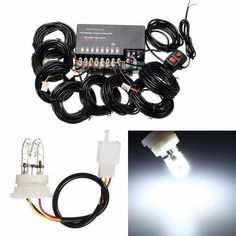 Strobe Lights For Cars Impressive 6 X T10 Strobe Led Flash W5W 194 9Smd 5730 5630 Led 9Smd Car Light Inspiration