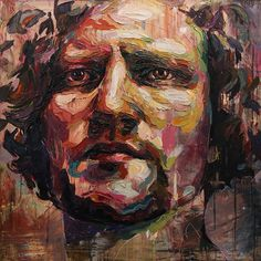 Multicolored Palette Knife Paintings Explore the Many Layers of Human Emotions - My Modern Met