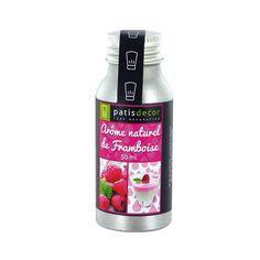 Arôme naturel Framboise Patisdécor 50 ml