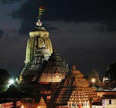 Jagannath Temple during Night, Puri, Odisha, India