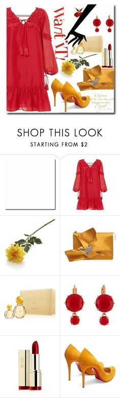 """""""Untitled #664"""" by pesanjsp ❤ liked on Polyvore featuring 10 Crosby Derek Lam, Crate and Barrel, Chanel, N°21, Bulgari, Les Néréides, Milani and Christian Louboutin"""