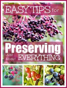 Mums make lists ...: Preserving Food