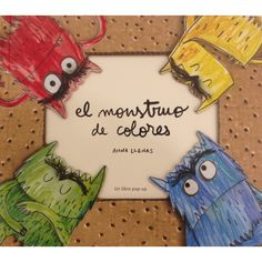 The Colour Monster Pop-Up : Anna Llenas : 9781783703562 Pop Up, Spanish Colors, Up Book, Feelings And Emotions, The Conjuring, Nonfiction Books, Free Ebooks, Reading Online, Childrens Books