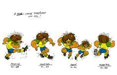 "Mickey Mouse short ""O Futebol Classico"" -Andy Suriano"
