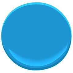 utah sky 2065-40 Benjamin Moore  A hint of black gives depth to this crisp, bright blue that evokes the beauty of a cloudless, crystal-clear sky. LRV : 28.3 #Paint