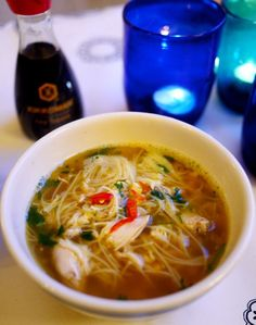 Chicken Noodle Soup - The Londoner