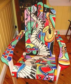 Pull Up a Chair . . . a painted chair! - Just Paint It Blog