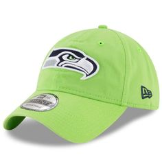 d40aab0770f Adult New Era Seattle Seahawks 9TWENTY Core Adjustable Cap