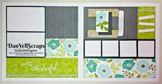 Cards, Layout and LOTS of stamping....