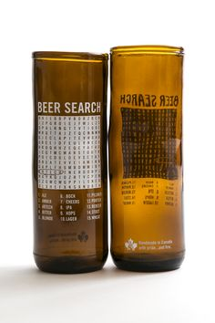 Beer Search Rebeer Upcycled glass