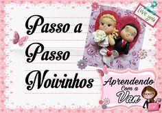 (DIY) PASSO A PASSO NOIVINHOS COM MOLDE MINI FÁBRICA DE FANTASIA