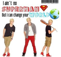 Who needs super man when you have Ross lynch!!!!#!!!!!