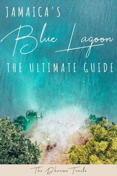 Everything you need to know about visiting The Blue Lagoon Jamaica. From how to get there, how much to pay and what tours to take (with maps & photos). Blue Lagoon Jamaica, Blue Lagoon Beach, Ocean Beach, Hawaii Beach, Oahu Hawaii, Jamaica Map, Jamaica Travel, Mexico Travel, Philippines Travel