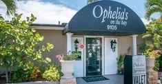 Ophelia's on the Bay waterfront fine dining restaurant Siesta Key Sarasota, Florida. Photo by Jennifer Brinkman. Must Do Visitor Guides, MustDo.com.