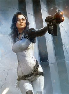 View an image titled 'Miranda Lawson Art' in our Mass Effect 2 art gallery featuring official character designs, concept art, and promo pictures. Mass Effect Miranda, Tali Mass Effect, Mass Effect Video Game, Camilla Luddington Tomb Raider, Video Game Characters, Female Characters, Mass Effect Characters, Video Game Art, Video Games
