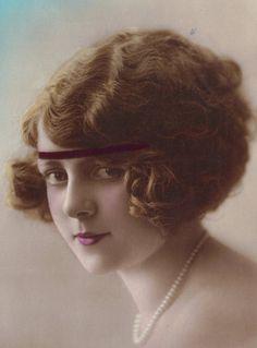 Beautiful Portrait Postcard c.1922