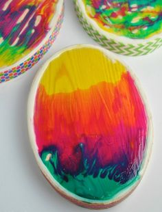 WOW! Psychedelic Easter Egg Crafts