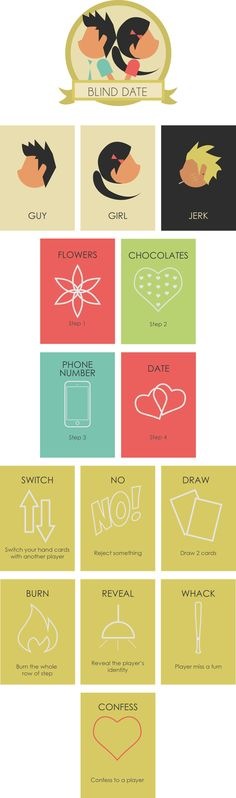 Blind Date (Card Game Design)                                                                                                                                                                                 More