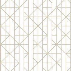 Kelly Hoppen Linear Gold Wallpaper